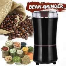 220V Electric Coffee Grinder Beans Nuts Maker Milling Grinding Machine
