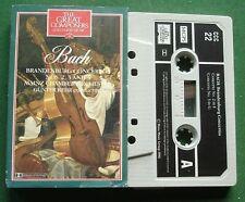 Bach Brandenburg Concertos 2 3 & 5 Great Composers 22 Cassette Tape - TESTED