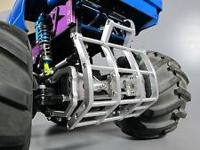 Aluminum Axle Mount Bumper Grill Guard Tamiya 1/10 RC Ford F350 Juggernaut 1 2