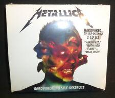 New Sealed Metallica - Hardwired...To Self-Destruct CD Deluxe 2 Disc Set Digipak