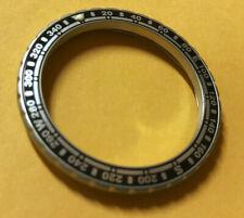 Compass Insert Matte Steel Bezel Vostok Amphibian Komandirskie Watch / Limited