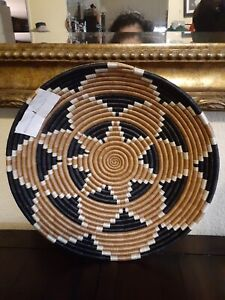 Beautiful SISAL  Multicolor  INTORE DECORATIVE BOWL From Africa Hand Made