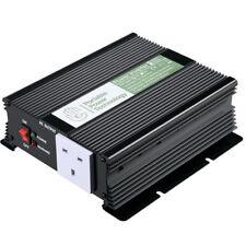 Power Inverter 600W/1500W Modified Sine Wave 12 - 240V Watt Camper Caravan Van