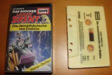 MC Hörspiel Larry Brent 10 - erste Auflage aus den 1980er Jahren Kassette Europa