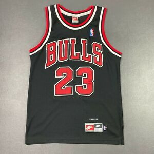 100% Authentic Michael Jordan Vintage Nike Chicago Bulls Jersey Size 40 M Mens