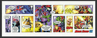 2019 GB MARVEL COMICS Mini Sheet NO BDE 14/03/2019 Worldwide FREEPOST