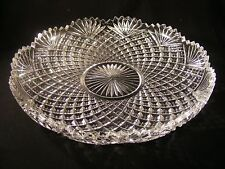 REXXFORD CRYSTAL LOW BOWL....GERMANY...SIGNED... LTD. ED.