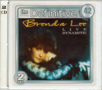 Brenda Lee 2 CD Live Dynamite The Definitive Collection Brand New Sealed