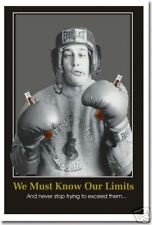 We Must Know Our Limits - Drinking Beer - Funny Humor College Dorm POSTER