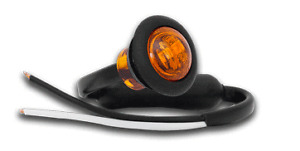 LED AMBER MARKER LIGHT TRUCK SEMI TRAILER FLOAT 181AM