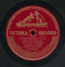 pc78-Classical soprano-Victrola 87348-Geraldine Farrar