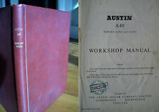 Austin A40 (series A2S6 and AAW6) Workshop Manual