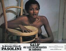 Pier paolo pasolini salo o le 120 giornate di sodoma 1975 vintage lobby card #6