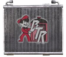 1930-1940 chevy- Ford -Chrysler style A/C Condenser IN NATURAL ALUMINUM COLOR