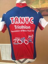 Nyc Tri Club (Tanyc) Men's Small Tri Jersey Cycling