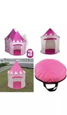 Princess Castle Play Tent W Glow In The Dark Stars Conveniently Folds To A Carry