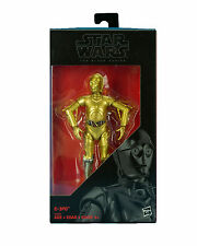 """STAR WARS ROGUE ONE BLACK SERIES 6"""": C-3PO with GOLD ARM & SILVER LEG WALGREENS"""