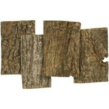 1-4 cm Thick 28 Bark Plates Home Craft Wooden Decoration Material 9.5 x 6.5 cm