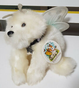 PUPPILLONS IMAGINATIVE BUTTERFLY DOG WITH FAIRY WINGS PLUSH TOY SOFT TOY AURORA