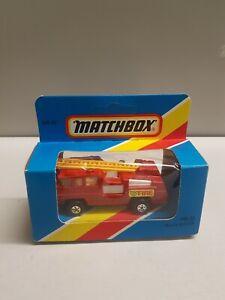 MATCHBOX Superfast MB22 Blaze Buster   C/87
