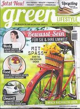 green Lifestyle Nr.03 Sep./Okt./Nov. 2015,für einen nachhaltigen Lebensstiel