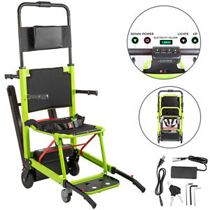 VEVOR Elektrisch Rollstuhl Treppenlift Grün Treppenlift Faltbar Behinderte