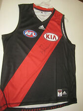 ESSENDON NEALE DANIHER HAND SIGNED HOME JERSEY UNFRAMED + PHOTO PROOF