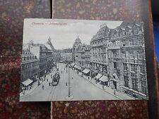 Architektur/Bauwerk Ansichtskarten aus Sachsen mit dem Thema Straßenbahn