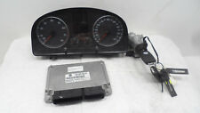 VW Motorsteuergerät 06A906033, Tacho 1T0920851 Wegfahrsperre + Zündschloß