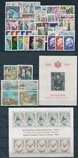 Monaco 1974 Complete Year Set  incl. souvenir sheets MNH
