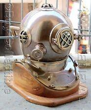 Collectibles Vintage Reenactment Nautical US Navy Mark V Diving Divers Helmet