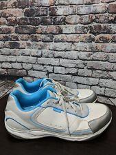 Vionic Zen Walking Shoes Orthaheel Size 11M/42 1St Ray Technology White/Blue