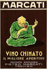 PIETRO MARCATI-Vino Chinato-il migliore-cina -Premiata distilleria - TREVISO