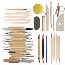 42Pcs Pottery Tools Clay Sculpting Tools Ceramic Polymer Carving Sculpture Us