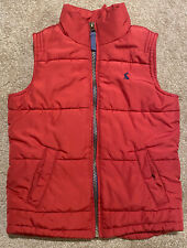 Joules Red Gilet Age 4 Years