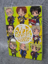 HETALIA Axis Powers Portable Official Visual Fanbook Art Book 2011 MF06*