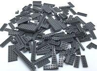 QTY:100 pieces TCM Compatible Bricks Dark Bluish Gray Plate 2 x 3