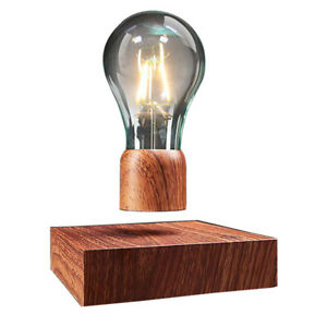 Magnetic Levitating Floating Light Bulb Lamp for Unique Gifts, Home Décor
