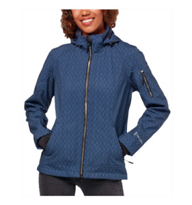 FREE COUNTRY WOMENS SUPER SOFTSHELL JACKET, URBAN NAVY *CHECK FOR SIZE