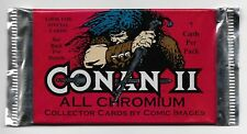 1994 CONAN II All Chromium - UNOPENED PACK (38 Available)