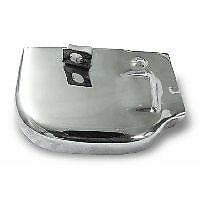 Vespa PX Secector Box Top Cover in Stainless Steel