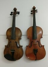 (2) Vintage Violins Kronotone Made In Germany & Unknown Lot of 2