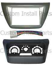 Mitsubishi Lancer 2002-2007 Complete Install Double Din Kit w/ AC Relocation Kit