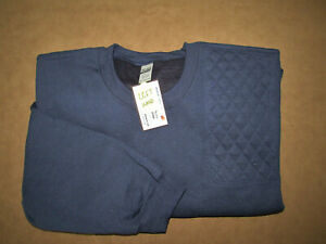 NEW! 2XL Left Hand Trap/Skeet Pad NAVY BLUE 50/50 Blend Sweatshirt