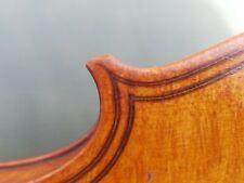 Fine Antique violin 4/4 Maggini copy double purfling stunning tiger stripe back