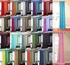 1 PANEL ANTIQUE GROMMETS SILK WINDOW CURTAINS FOAM LINED BLACKOUT ECLIPSE K72