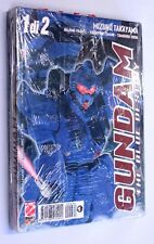GUNDAM THE BLUE DESTINY n. 1-2 SERIE COMPLETA Planet Manga 2002 Mizuho Takayama