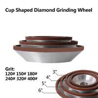 75/100/125/150mm Resin Diamond Grinding Wheel Disc Cup Grinder for Carbide Metal
