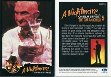 IMPEL A NIGHTMARE ON ELM STREET 5 SAMPLE PROMO CARD THE DREAM CHILD 1991 RARE