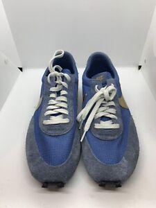 Nike Daybreak SP Ocean Fog/Metallic Gold BV7725 400 Size 12 Blue Waffle